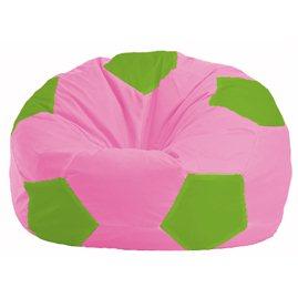 Кресло-мешок Мяч розовый - салатовый М 1.1-197
