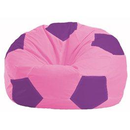Кресло-мешок Мяч розовый - сиреневый М 1.1-194