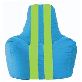 Кресло-мешок Спортинг голубой - салатовый С1.1-276
