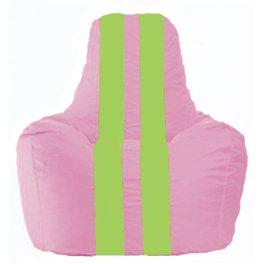 Кресло-мешок Спортинг розовый - салатовый С1.1-197