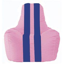 Кресло-мешок Спортинг розовый - синий С1.1-195