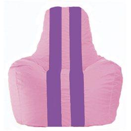 Кресло-мешок Спортинг розовый - сиреневый С1.1-194