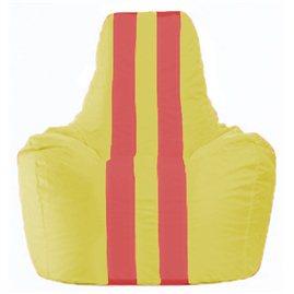 Кресло-мешок Спортинг жёлтый - красный С1.1-260