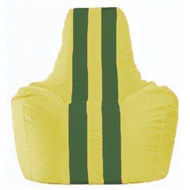 Кресло-мешок Спортинг жёлтый - зелёный С1.1-262