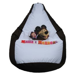 Кресло-мешок Маша и медведь