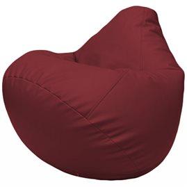 Кресло-мешок Груша Г2.3-21 бордовый