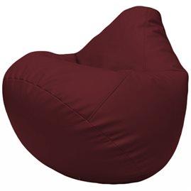 Кресло-мешок Груша Г2.3-32 бордовый