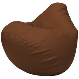 Кресло-мешок Груша Г2.3-07 коричневый
