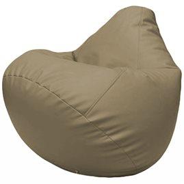 Кресло-мешок Груша Г2.3-02 светло-серый
