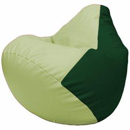 Кресло-мешок Груша Г2.3-0401 светло-салатовый, зелёный