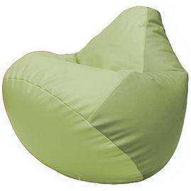 Кресло-мешок Груша Г2.3-0419 светло-салатовый, оливковый