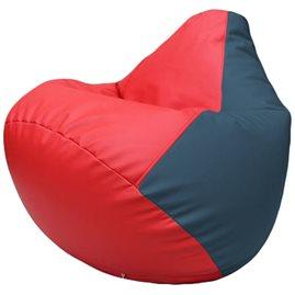 Кресло-мешок Груша Г2.3-0903 красный, синий