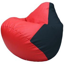Кресло-мешок Груша Г2.3-0915 красный, синий