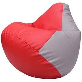 Кресло-мешок Груша Г2.3-0925 красный, сиреневый