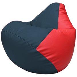 Кресло-мешок Груша Г2.3-1509 синий, красный