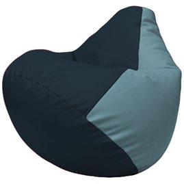 Кресло-мешок Груша Г2.3-1536 синий, голубой