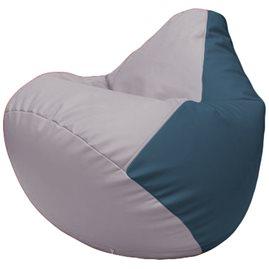 Кресло-мешок Груша Г2.3-2503 сиреневый, синий