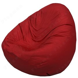 Бескаркасное кресло-мешок Груша Мини бордовый