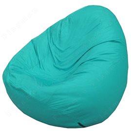 Бескаркасное кресло-мешок Груша Мини бирюзовый