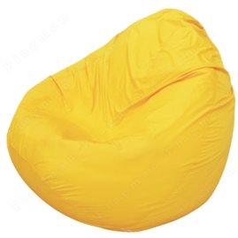 Бескаркасное кресло-мешок Груша Мини жёлтое