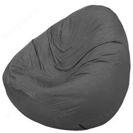 Бескаркасное кресло-мешок Груша Мини серое