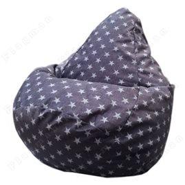 Бескаркасное кресло-мешок Груша Liverpool star 07