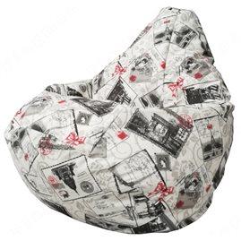 Бескаркасное кресло-мешок Груша Darling