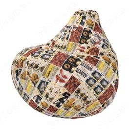 Бескаркасное кресло-мешок Груша Винтаж 01