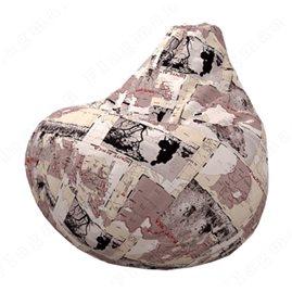 Бескаркасное кресло-мешок Груша Камел