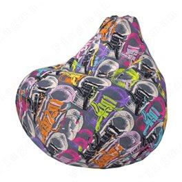 Бескаркасное кресло-мешок Груша Кедос