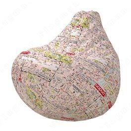 Бескаркасное кресло-мешок Груша Лондон 10