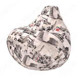 Бескаркасное кресло-мешок Груша Честер