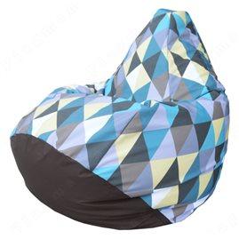 Кресло-мешок Груша Romb 06 (фотопринт)
