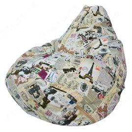 Бескаркасное кресло-мешок Груша Г2.6-25