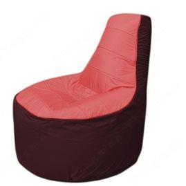 Живое кресло-мешокТрон Т1.1-0201(красный-бордовый)