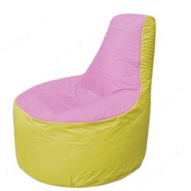 Живое кресло-мешокТрон Т1.1-0306(розовый-желтый)
