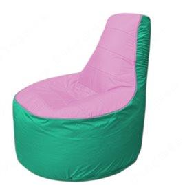 Живое кресло-мешокТрон Т1.1-0312(розовый-бирюзовый)