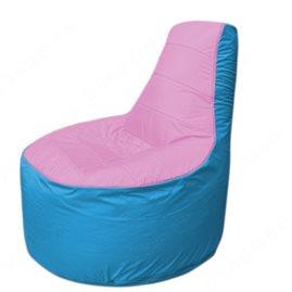 Живое кресло-мешокТрон Т1.1-0313(розовый-голубой)