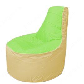 Живое кресло-мешокТрон Т1.1-0720(салатовый-бежевый)