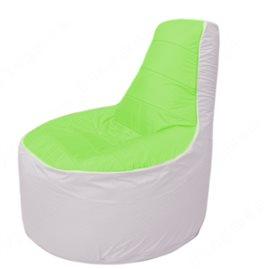 Живое кресло-мешокТрон Т1.1-0725(салатовый-белый)