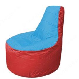 Живое кресло-мешокТрон Т1.1-1302(голубой-красный)