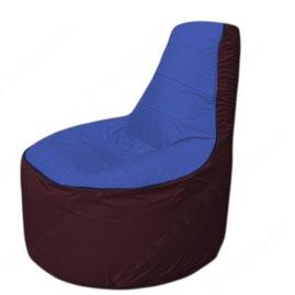 Живое кресло-мешокТрон Т1.1-1401(синий-бордовый)