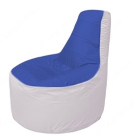 Живое кресло-мешокТрон Т1.1-1425(синий-белый)