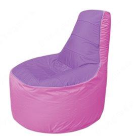 Живое кресло-мешокТрон Т1.1-1703(сиренивый-розовый)