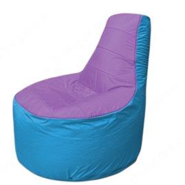 Живое кресло-мешокТрон Т1.1-1713(сиренивый-голубой)