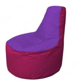 Живое кресло-мешокТрон Т1.1-1804(фиолетовый-фуксия)