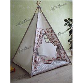 Игровая палатка - вигвам 07
