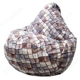 Бескаркасное кресло-мешок Груша Артхаус