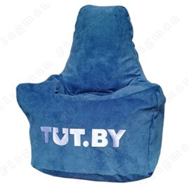 Кресло-мешок Спортинг синий (логотип tut.by) С1.4-01