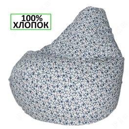 Кресло-мешок Груша Цветочный восторг